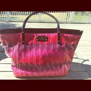 Kate Spade large tote - genuine